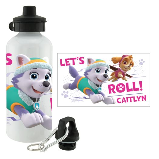 PAW Patrol Let's Roll Girls Water Bottle