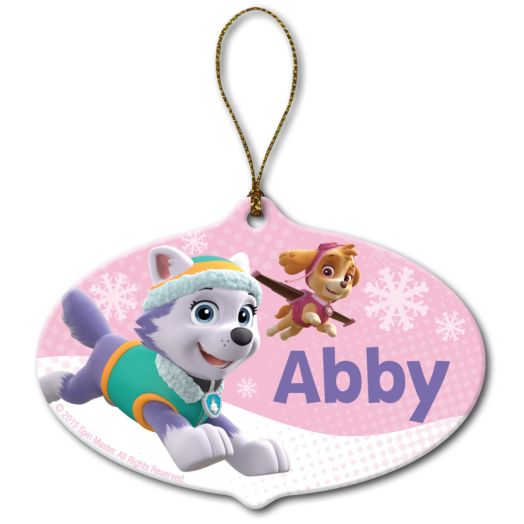 PAW Patrol Everest & Skye Ornament
