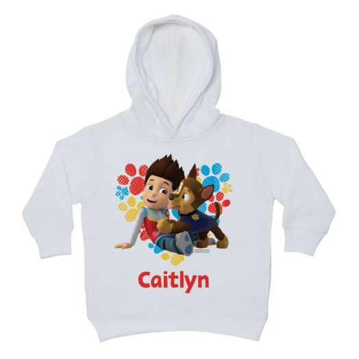 PAW Patrol Puppy Love White Toddler Hoodie