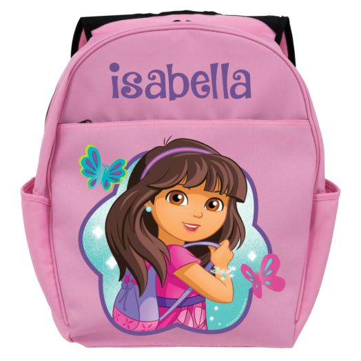 Dora and Friends Let's Go Pink Toddler Backpack