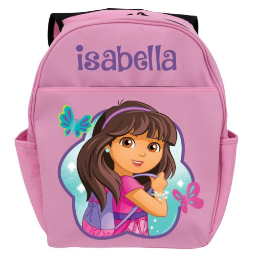 Dora and Friends Let's Go Pink Youth Backpack