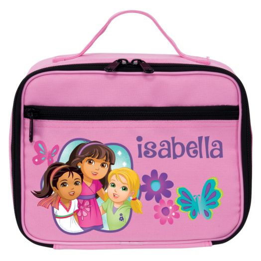 Dora and Friends Butterfly Fun Pink Lunch Bag