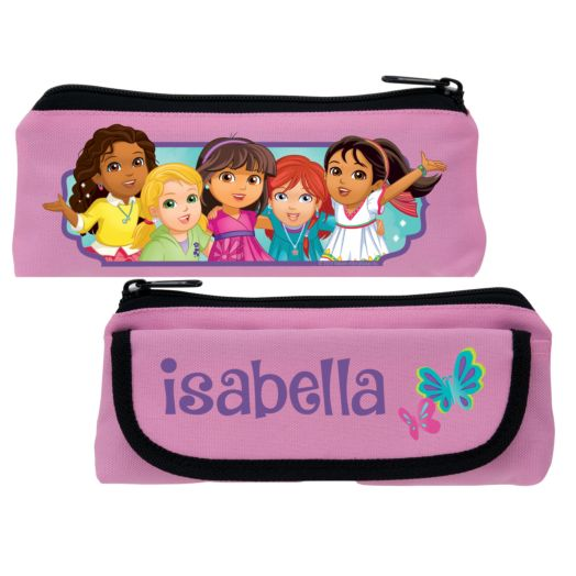 Dora and Friends Butterfly Fun Pink Pencil Case