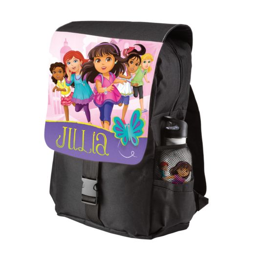Dora and Friends Adventure Awaits Black Youth Backpack
