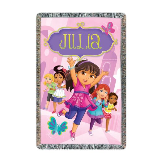 Dora and Friends Join the Adventure Throw
