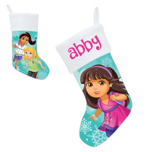 Dora and Friends Let it Snow Stocking