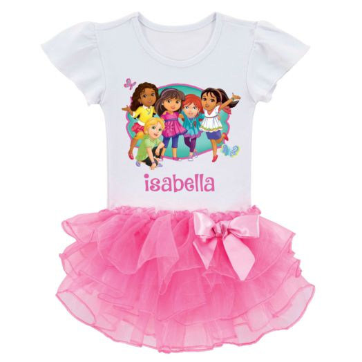 Dora and Friends All Together Tutu Tee