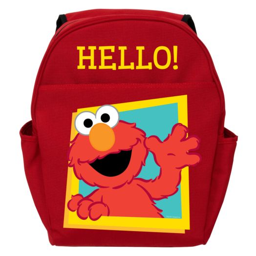 Sesame Street Hello Elmo Red Toddler Backpack