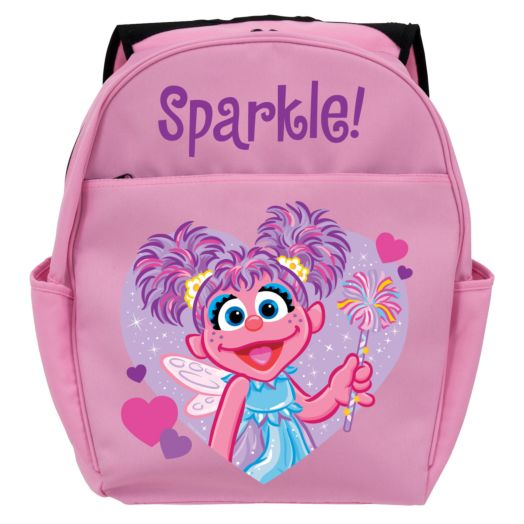 Sesame Street Abby Cadabby Twinkle Pink Toddler Backpack