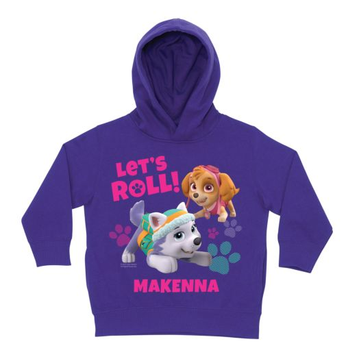 PAW Patrol Let's Roll Purple Toddler Hoodie
