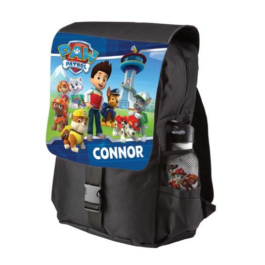 PAW Patrol To The Lookout Black Youth Backpack