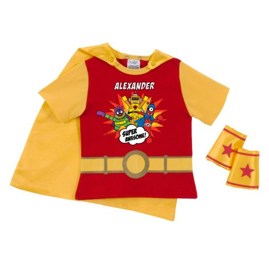 Yo Gabba Gabba Super Awesome Red Super Tee and Cuff Set