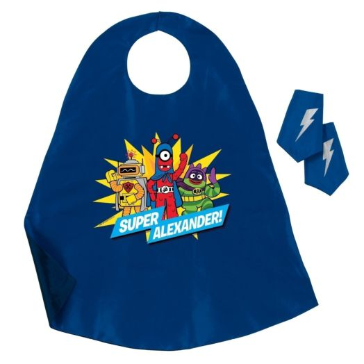 Yo Gabba Gabba Blue Hero Cape and Cuff Set
