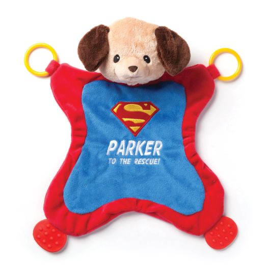 Personalized GUND Superman Griffin  Activity Blanket