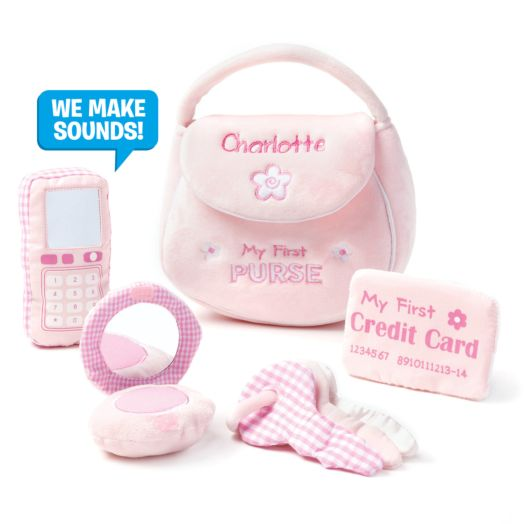 Personalized GUND MY First Purse Playset