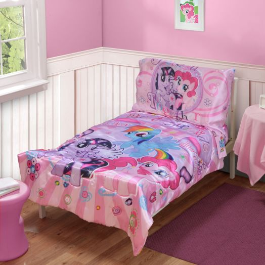 My Little Pony 4 Piece Toddler Bedding Set