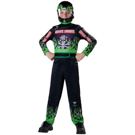 Monster Jam Grave Digger Costume