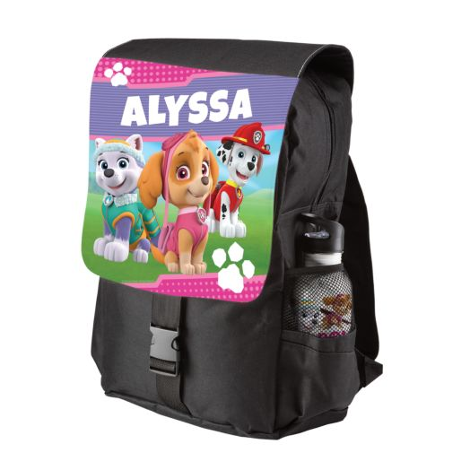 PAW Patrol Pawfect Pups Black Youth Backpack