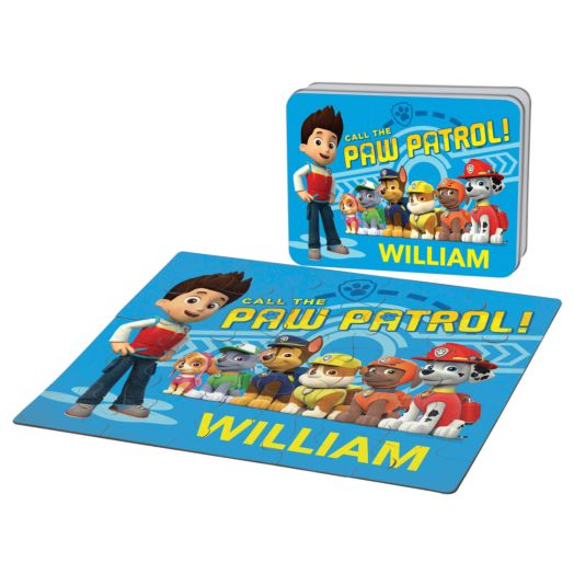 PAW Patrol On Call Puzzle & Gift Tin