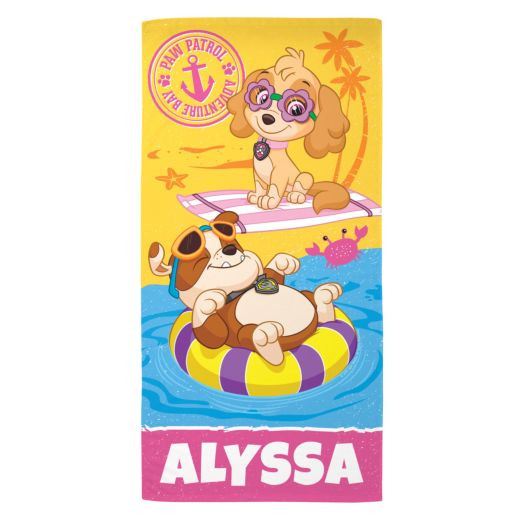PAW Patrol Ready to Relax Beach Towel