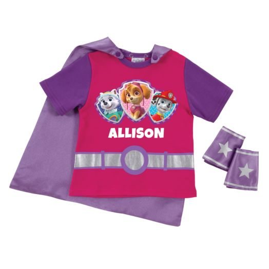 PAW Patrol Pup Power Pink Super Tee & Cuffs