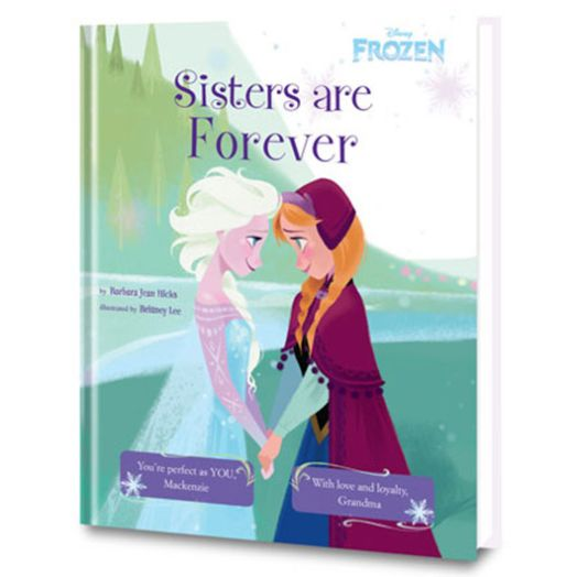 Disney's Frozen: Sisters are Forever Personalized Book