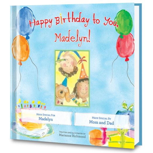 Happy Birthday to You! Personalized Book