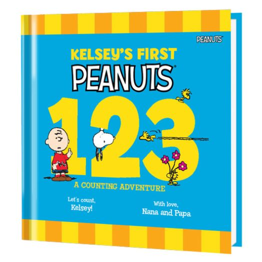 My First Peanuts: 123 Personalized Books