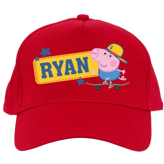 Peppa Pig All-Star George Red Baseball Cap
