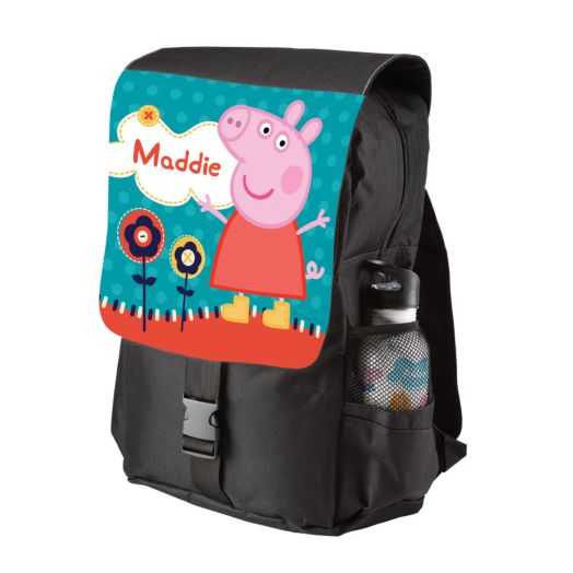 Peppa Pig Lovely Garden Front Flap Backpack