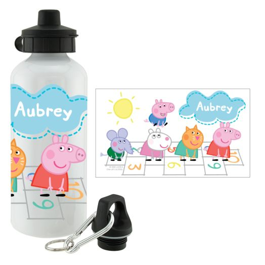 Peppa Pig Hopscotch Friends Water Bottle