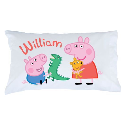 Peppa Pig Peppa and George Pillowcase