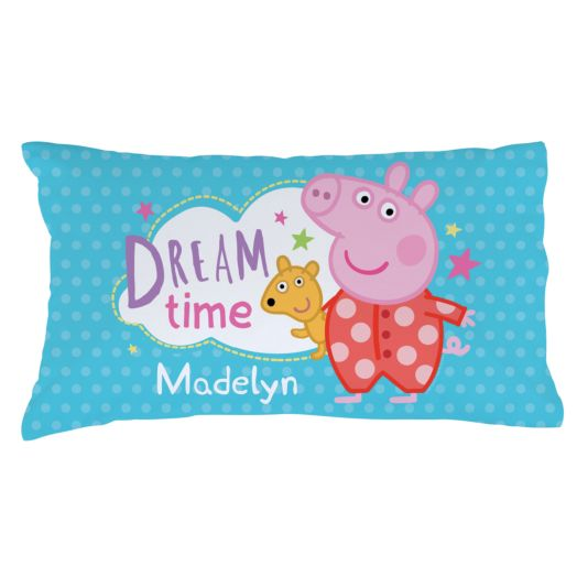 Peppa Pig Dreamtime and Polkadots Pillowcase