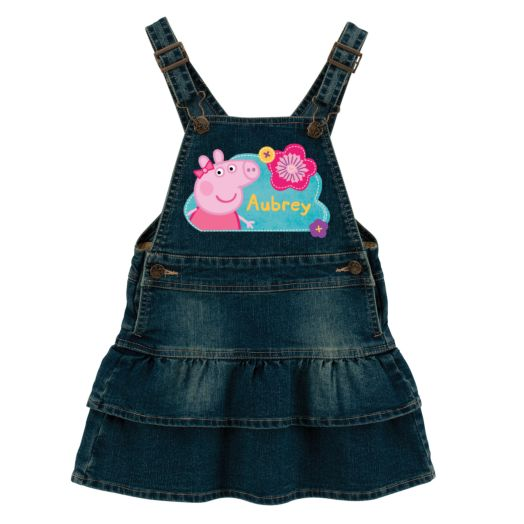 Peppa Pig Pretty Flowers Denim Dress