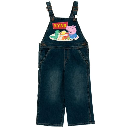 Peppa Pig Playful George Denim Overalls