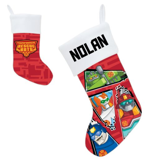 Transformers Rescue Bots Holiday Stocking
