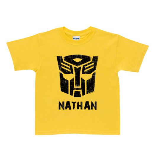 Transformers Rescue Bots Bumblebee Yellow T-Shirt