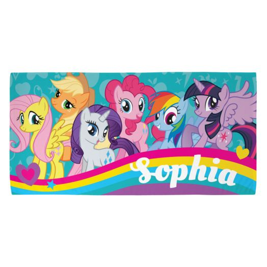 My Little Pony Mane Six Beach Towel