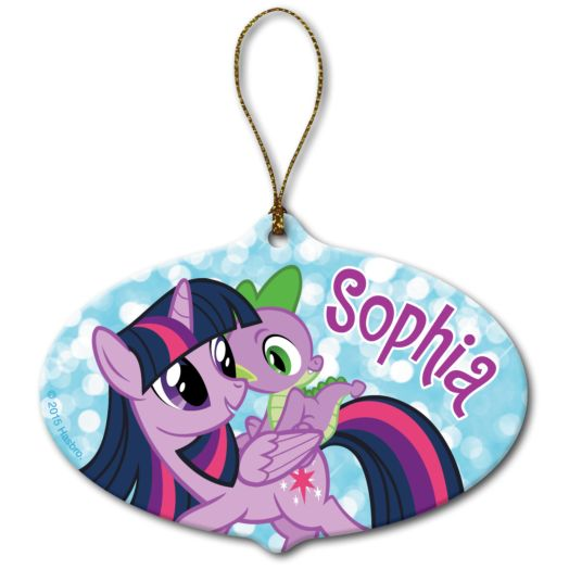 My Little Pony Twilight Sparkle and Spike Ornament
