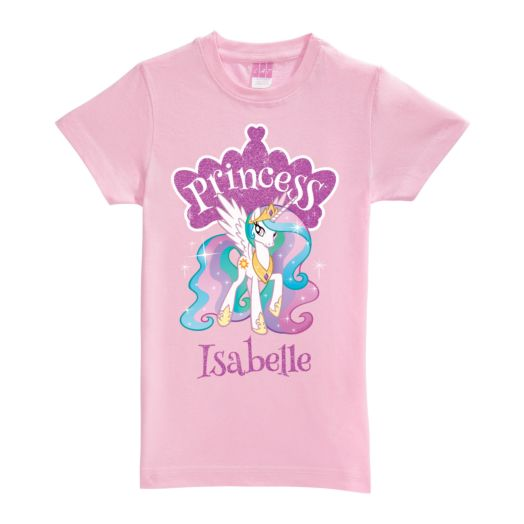 My Little Pony Princess Celestia Pink FItted Tee