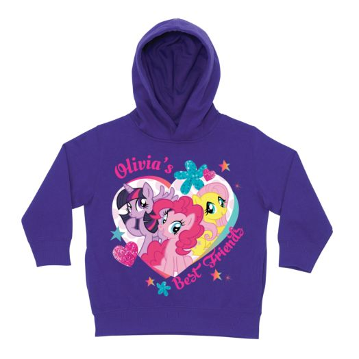 My Little Pony Best Friends Purple Toddler Hoodie