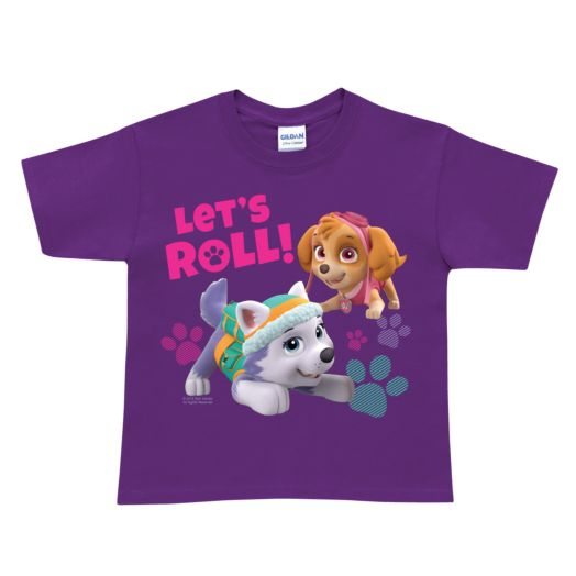 PAW Patrol Let's Roll Purple T-shirt