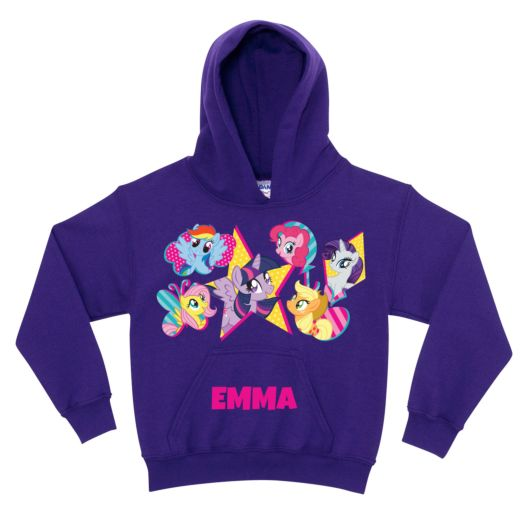 My Little Pony Cutie Marks Purple Youth Hoodie