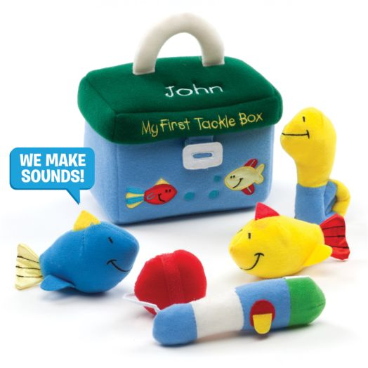 Personalized GUND My First Tackle Box Playset