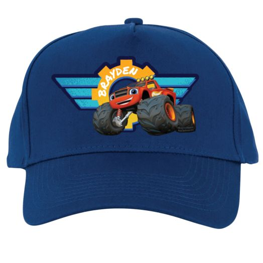 Blaze and the Monster Machines Mechanic Blue Baseball Cap