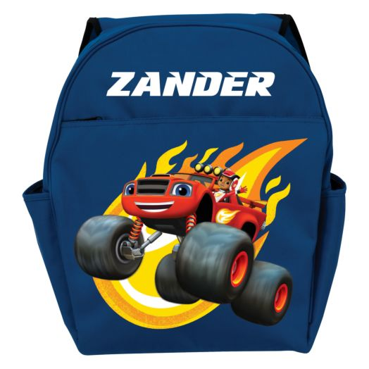 Blaze and the Monster Machines Blazing Blue Toddler Backpack
