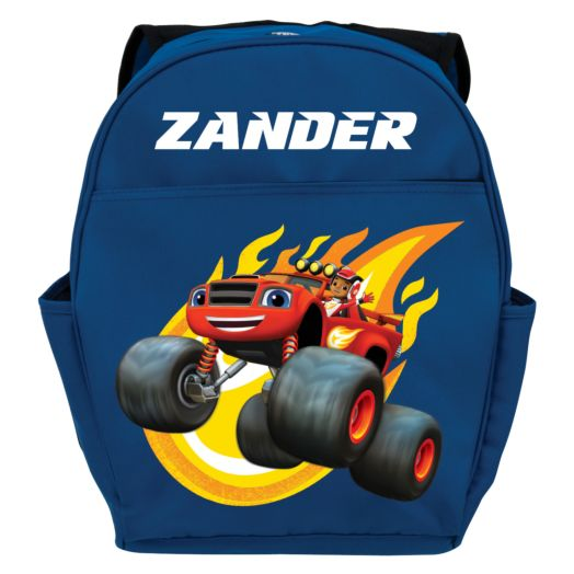 Blaze and the Monster Machines Blazing Blue Youth Backpack
