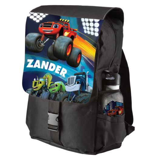 Blaze and the Monster Machines Champions Black Youth Backpack