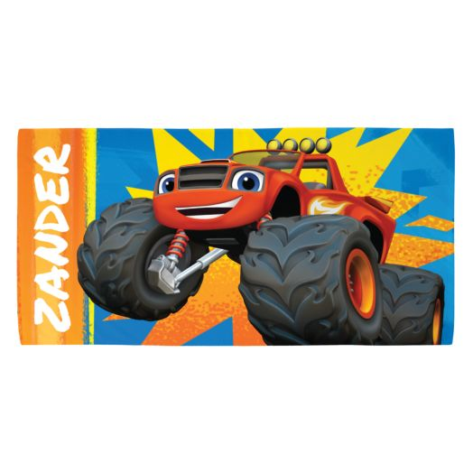Blaze and the Monster Machines Waaaa-Hooo Beach Towel