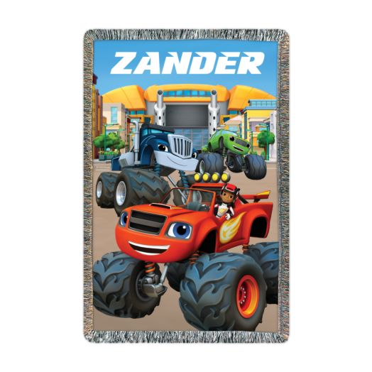 Blaze and the Monster Machines Axle City Throw